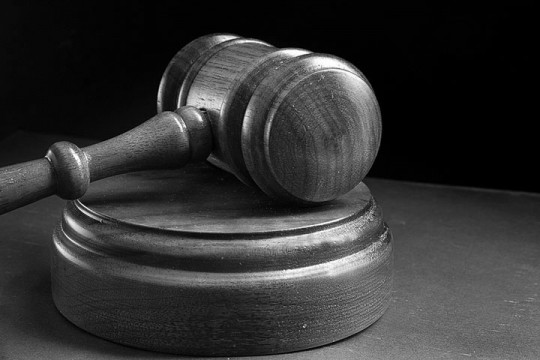 an arbitrator's wooden gavel
